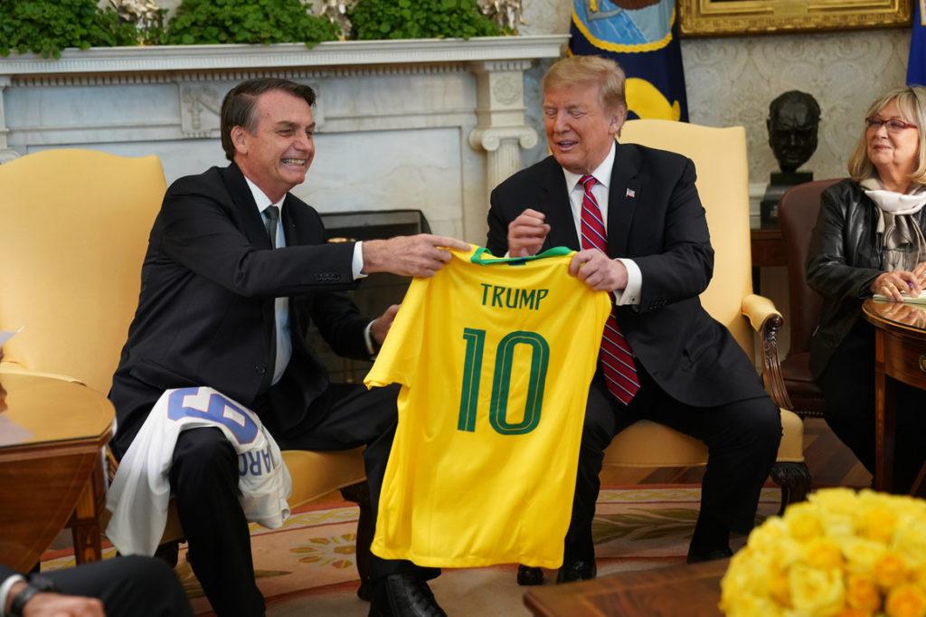 partnership between Brazil and US