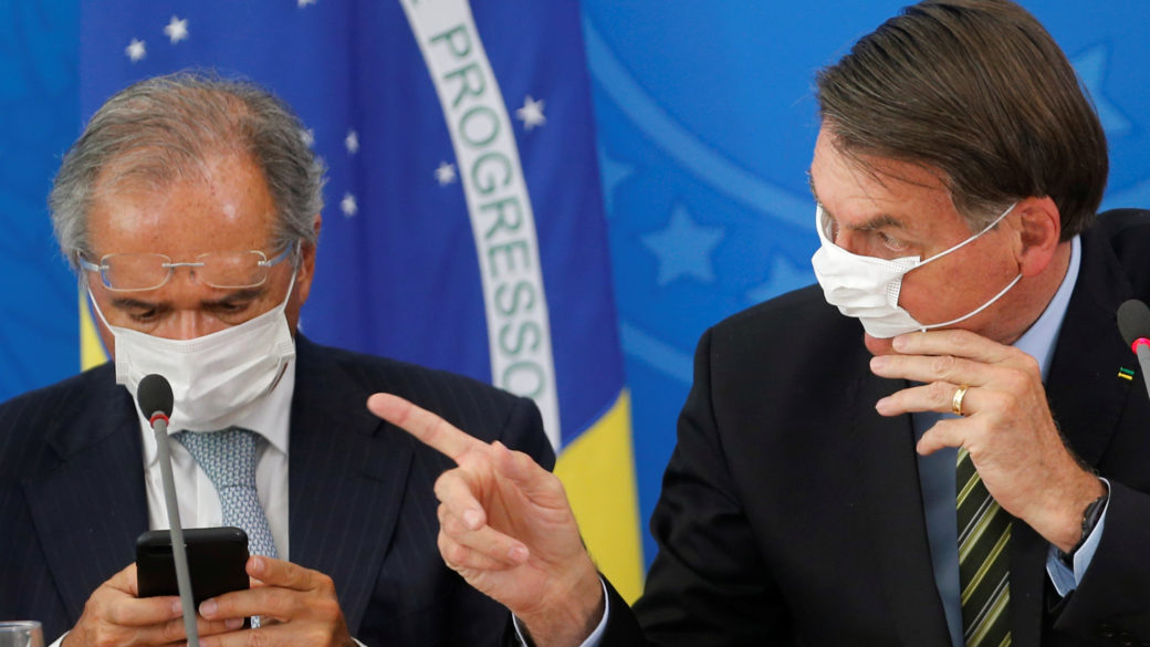 Paulo Guedes Announces 143.4 Billion Reais in Emergency Help Against Coronavirus